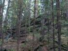 такие Аятские каменные палатки.