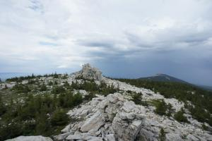 Вид с вершины Зюраткуля