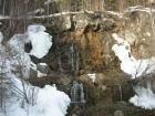 Водопады на старой линзе