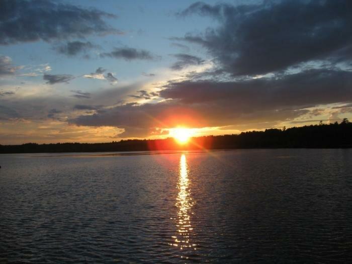 Закат на Балтыме