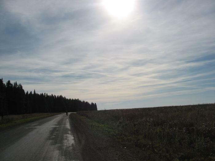 Дорога на Краснояр