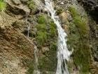 Водопад на старой линзе