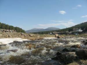 река Тюлюк и Иремель